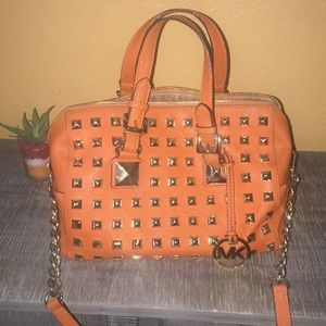 Michael Kors orange bag